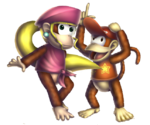 Diddy Kong&Dixie Kong