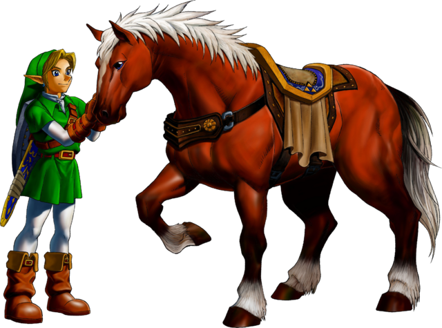 File:OoT Epona.png