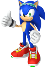 Sonic-Free-Riders-Characters-artwork-Sonic