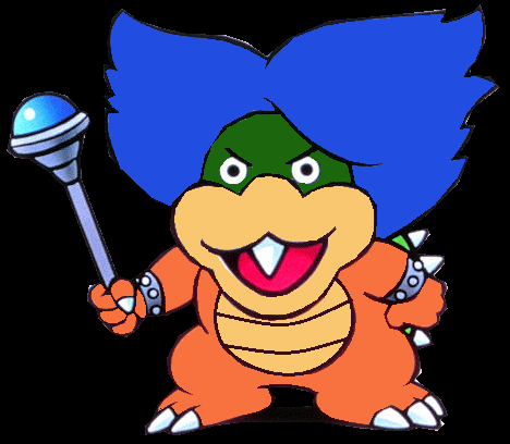 File:Ludwig Von Koopa 2D Art Upgrade.png