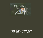 ChalkZone PSX, N64, DC Title Screen
