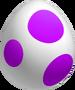 Purple Yoshi Egg