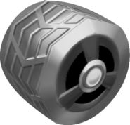 Silver Tires MK64W