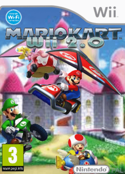 Mario Kart Wii 2.0 Box