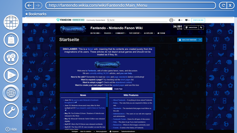 Glassbox-Internetbrowser-screenshot