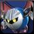 Meta Knight CSS Icon