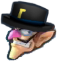 Gentleman Waluigi Icon MGGT