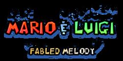 Mario & Luigi- Fabled Melody Logo