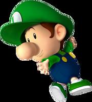 Baby Luigi NSMBDIY