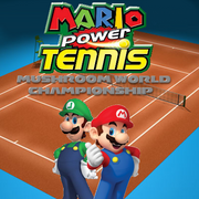 Mario Power Tennis Mushroom World Championship