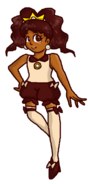 Eclair the sweet fighter
