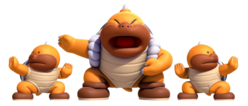 Sumo Bros., New Super Mario Bros. U