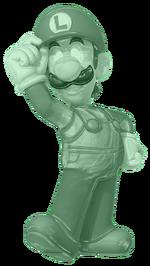 Green Metal Luigi