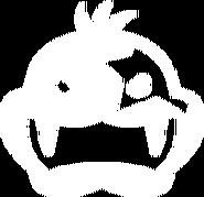 Morton Koopa Jr. emblem MK8 (White)