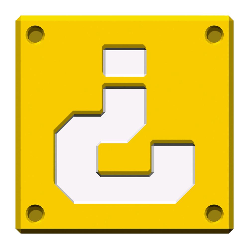 super mario coin block