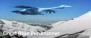 Great blue windrunner
