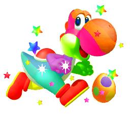 File:Rainbow Yoshi 2.png