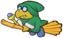 Green Flying Magikoopa