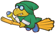 Green Flying Magikoopa