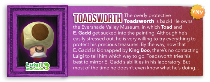 LM3 Character Info - Toadsworth