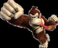 Donkey Kong Artwork - Super Mario Tournament