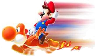 File:Orange Yoshi ('Dash').png