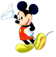 Mickey mouse png by matteoprincipe-d5hnsrl