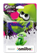 Amiibo - Splatoon - Inkling Squid - Box