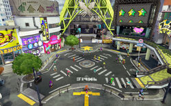 Inkopolis plaza splatoon