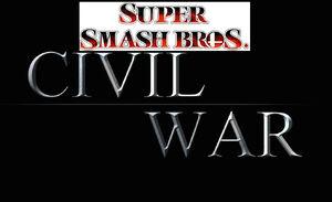 Smash Bros Civil War Logo