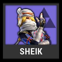 ACL -- Super Smash Bros. Switch character box - Sheik