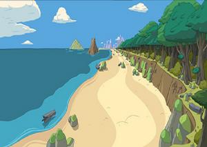 TheBeach-AdventureTime