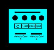 Light Blue Paper Player