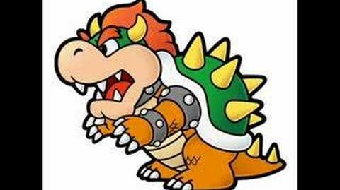 Paper Mario OST - Bowser, King of the Koopas (Game ver