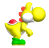 Yellow YoshiSMWWii