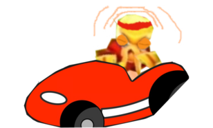 Captain Homosonee Kart