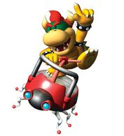 Koopa Kid riding a Bug