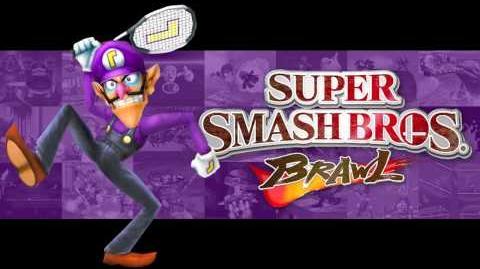 Waluigi Pinball - Super Smash Bros