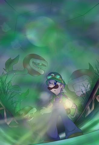 File:Luigis Mansion 2 by Foxeaf.png