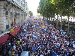 Tartan Army in France