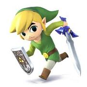 Toon Link Smash Bros