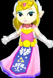 Smash 3C Toon Zelda by zarx1554 with credit to Pik