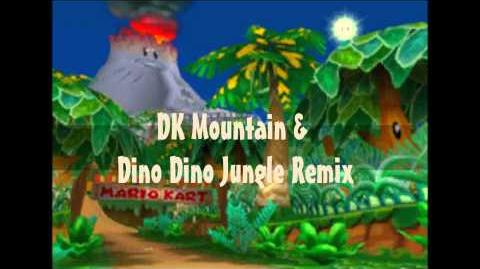 Mario Kart Double Dash!! DK Mountain & Dino Dino Jungle(Remix)~My Game Music Remix 22