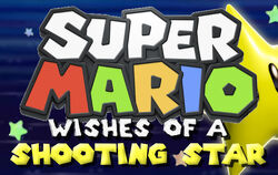 Super Mario Wishes Of A Shooting Star Logo