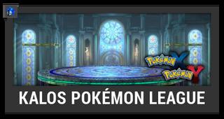 ACL -- Super Smash Bros. Switch stage box - Kalos Pokémon League
