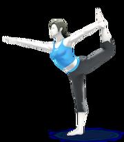 Wii Fit Trainer Smash Bros