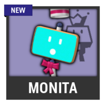 ACL -- Super Smash Bros. Switch character box - Monita