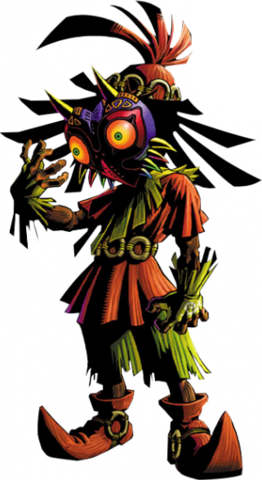 File:Skull Kid Artwork (Majora's Mask).png
