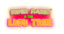 Super Mario & the Ludu Tree Logo