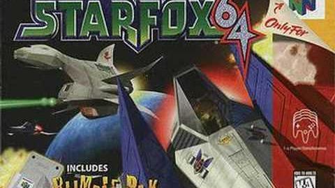 Title Screen (Star Fox 64)
